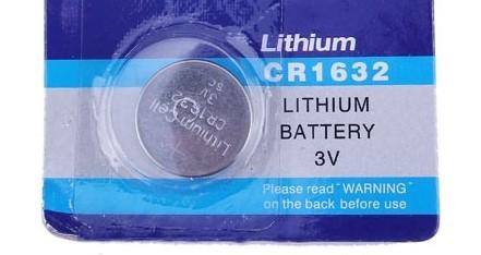 Litijeva 3V baterija CR1632