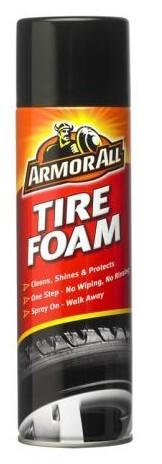 Zaščita in čistilo za pnevmatike v peni Armor All 500ml