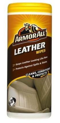 Robčki za zaščito in čiščenje usnja Armor All 20 kos