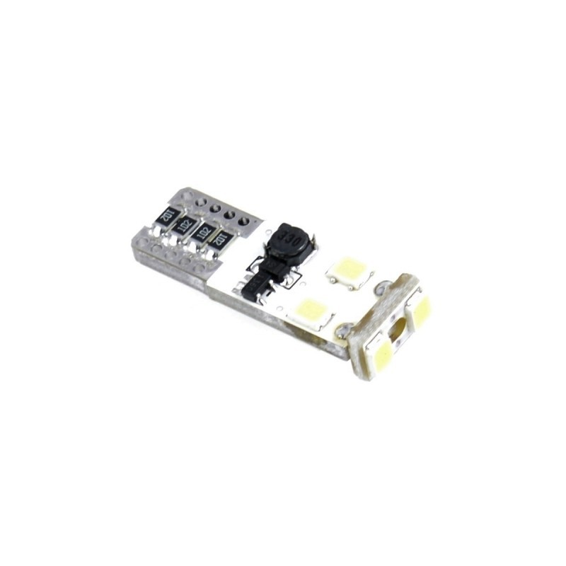 EINPARTS led žarnica W5W T10 CANBUS 6SMD 2835