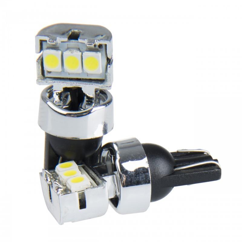 2 x EINPARTS led žarnica W5W T10 3SMD 2835 - 180 stopinj