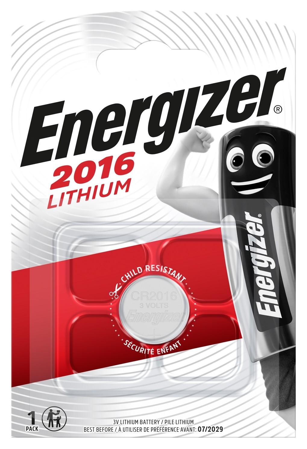 Litijeva 3V baterija CR2016 Energizer