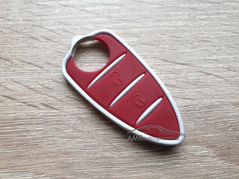 Gumijasti gumbi za ključe Alfa Romeo