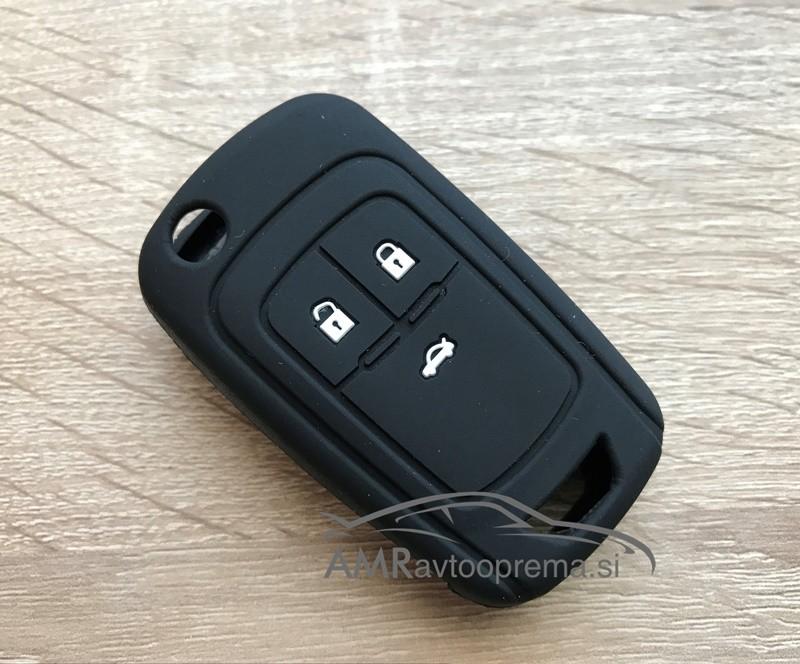 Silikonski ovitek za zložljive ključe Opel s tremi gumbi
