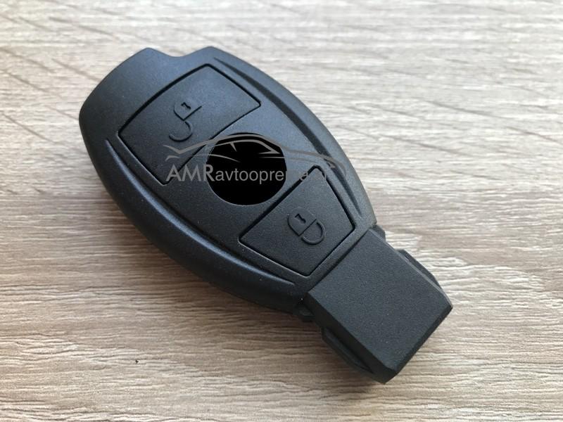 Ohišje za pametni ključ Mercedes z dvema gumboma