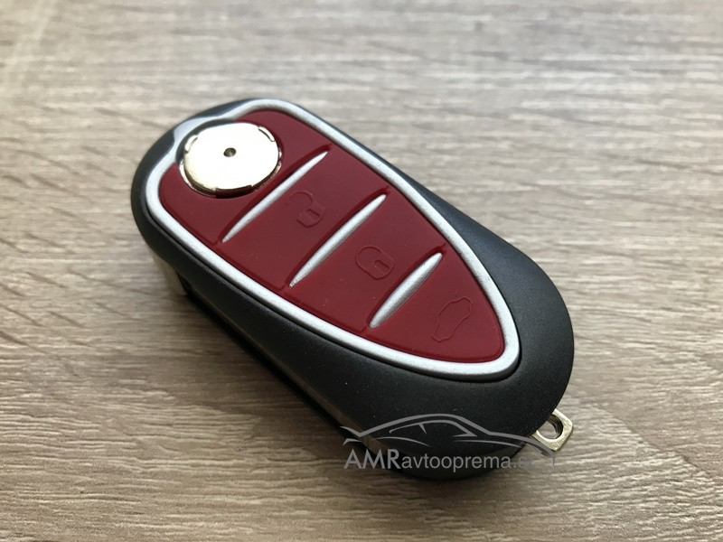 Ohišje za ključ Alfa Romeo MiTo, Giulietta, Brera itd.