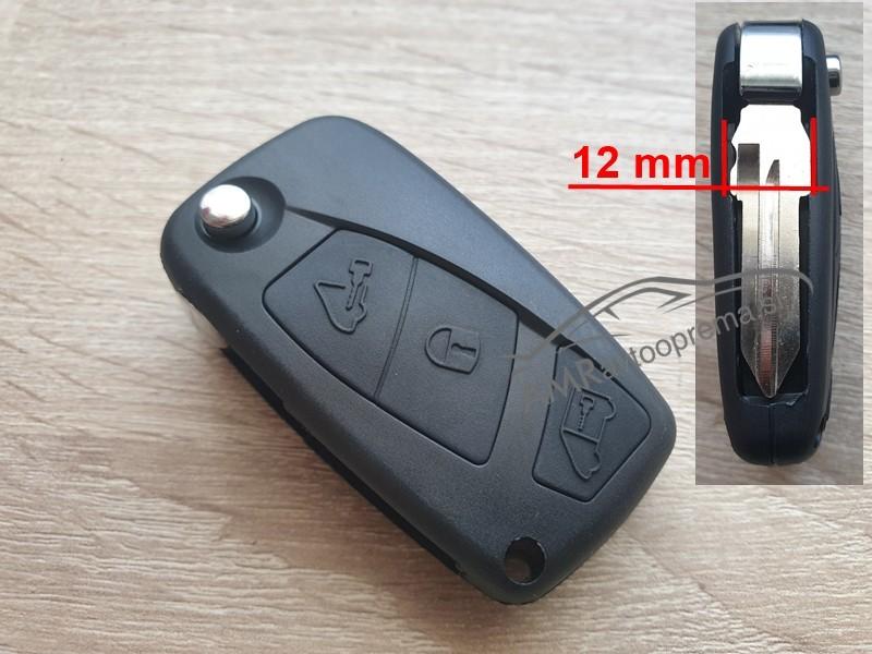 Ohišje za zložljive ključe Fiat