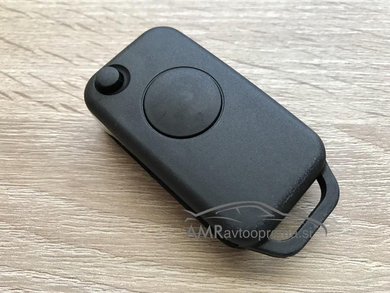 Ohišje za zložljive ključe Mercedes z enim gumbom