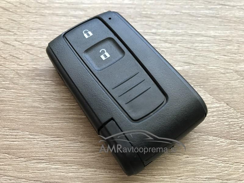Ohišje za pametni ključ Toyota z dvema gumboma