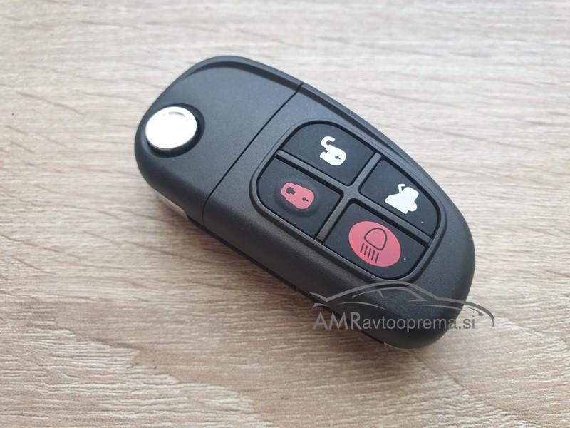 Ohišje za zložljive ključe Jaguar