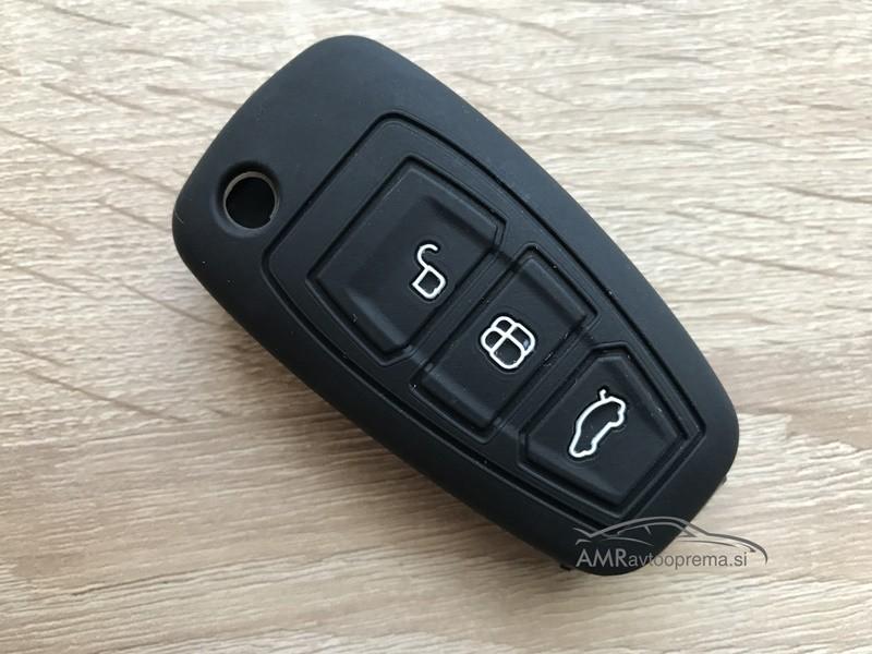 Silikonski ovitek za Ford ključe s tremi gumbi (Model 2)