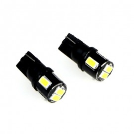 2 x EINPARTS led žarnica W5W T10 6SMD 5630 CANBUS