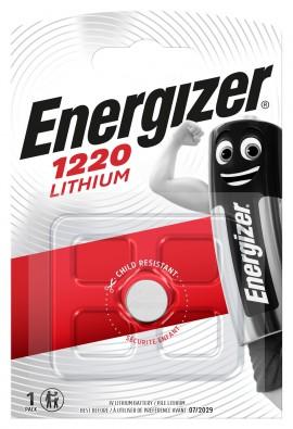 Litijeva 3V baterija CR1220 Energizer
