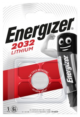 Litijeva 3V baterija CR2032 Energizer