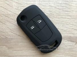 Silikonski ovitek za zložljive ključe Opel z dvema gumboma