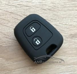Silikonski ovitek za ključe Citroen z dvema gumboma