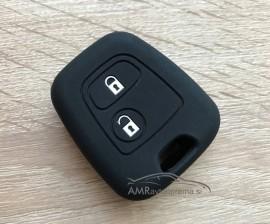 Silikonski ovitek za ključe Peugeot z dvema gumboma