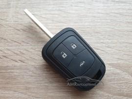 Ohišje za ključe Opel - 3 gumbi