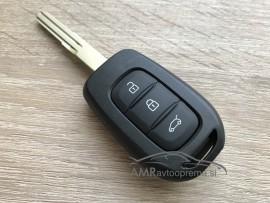 Ohišje za ključ Renault - 3 gumbi
