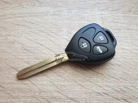 Ohišje za ključe z tremi gumbi za avtomobile Toyota