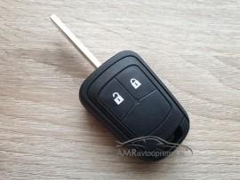 Ohišje za ključe Opel z dvema gumboma