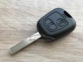 Ohišje za ključ Citroen C1, C2, C3 in C5