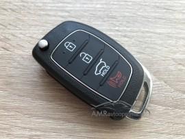 Ohišje za zložljive ključe Hyundai s 4 gumbi