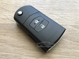 Ohišje za zložljive ključe Mazda z dvema gumboma