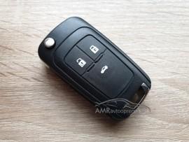 Ohišje za ključe Opel Astra, Insignia, Meriva, Zafira, itd. 3 gumbi