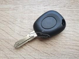 Ohišje za ključ Renault z enim gumbom