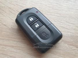 Ohišje za skriti ključ Nissan z dvema gumboma