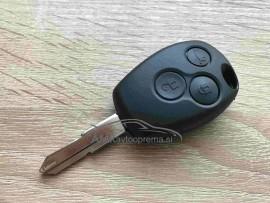 Ohišje za ključ Dacia s tremi gumbi