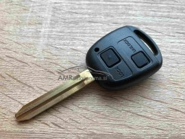 Ohišje za ključ Toyota z dvema gumboma