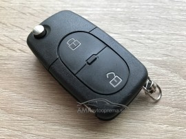 Ohišje za zložljive ključe Volkswagen Golf, Bora in Passat z dvema gumboma