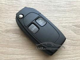 Ohišje za zložljive ključe Volvo z dvema gumboma
