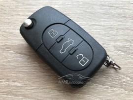 Ohišje za zložljive ključe Volkswagen Passat, Golf in Bora
