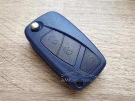 Ohišje za zložljive ključe Fiat s tremi gumbi