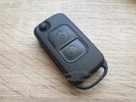 Ohišje za zložljive ključe Mercedes z dvema gumboma