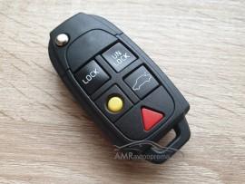Ohišje za zložljive ključe Volvo s petimi gumbi