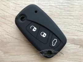 Silikonski ovitek za ključe Fiat s tremi gumbi