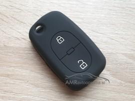 Silikonski ovitek za ključe Audi z dvema gumboma