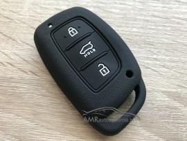 Silikonski ovitek za ključe Hyundai s tremi gumbi