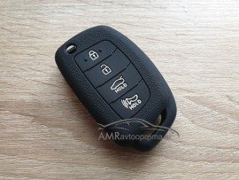 Silikonski ovitek za zložljive ključe Hyundai - 4 gumbi