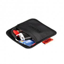 Zaščitna torbica proti kraji kode avtomobilskih ključev in bančnih kartic